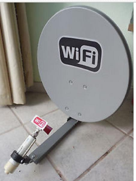 ... use a WiFi Booster Antenna to pick up FRee WiFi at branch library-wifi